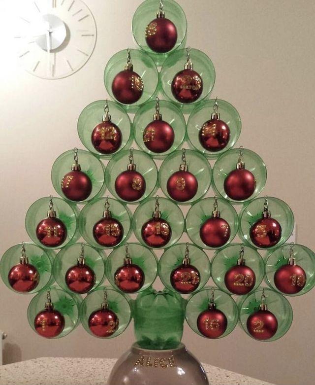 Arbol De Navidad Manualidades Reciclado