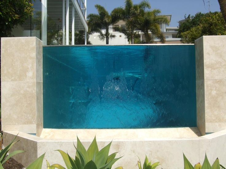 Swimming Pool Glass Swimming Pool Pinterest Piscinas