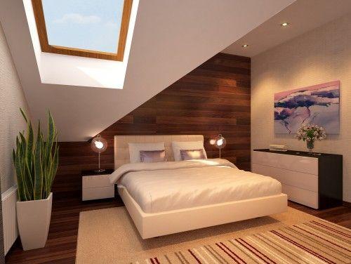 Wood wall mimicking hardwood floor