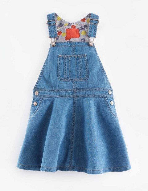 Dungaree Dress 33380 Day Dresses at Boden