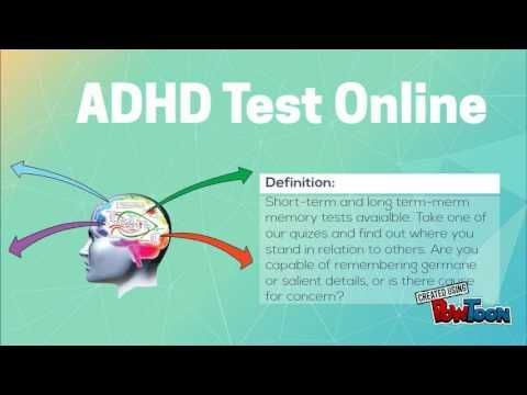 Take this ADHD test Online to learn more about the symptoms of adult attention deficit disorder for further information please visit  https://cogquiz.com/