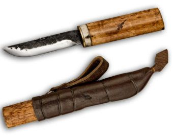 Handmade finnish knife Maya