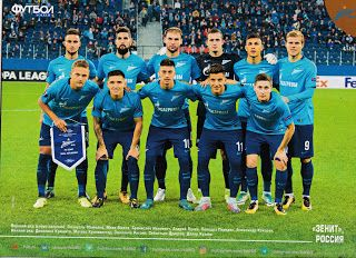 sport photo retro: Zenit St. Petersburg 2017-18