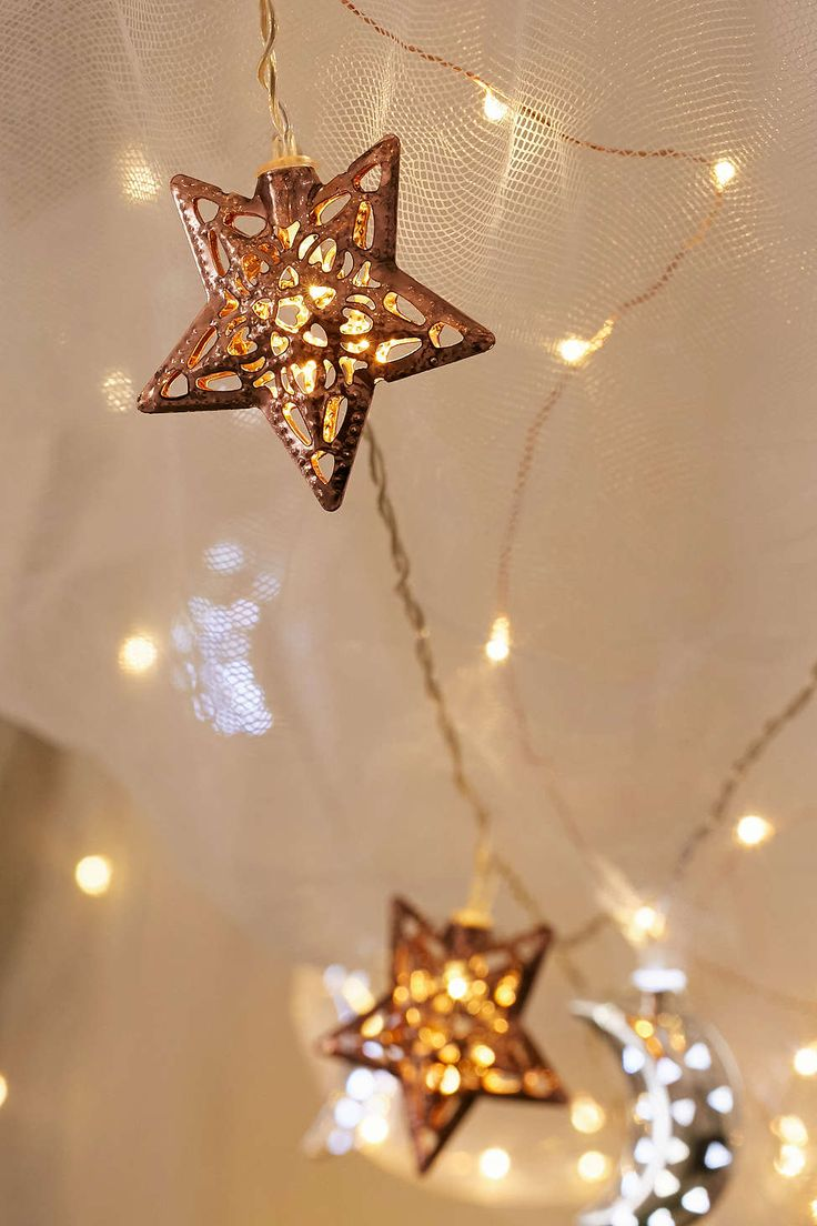 Copper Star String Lights Part 91
