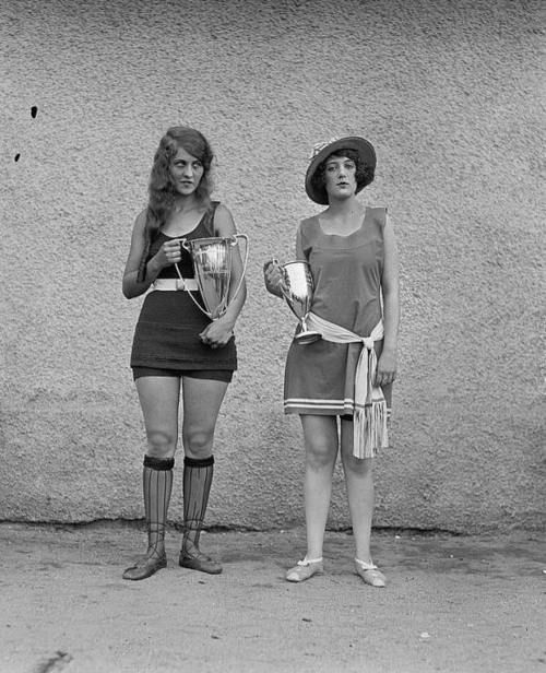 1st &  2nd place in the 1921 D.C. Beauty Pageant