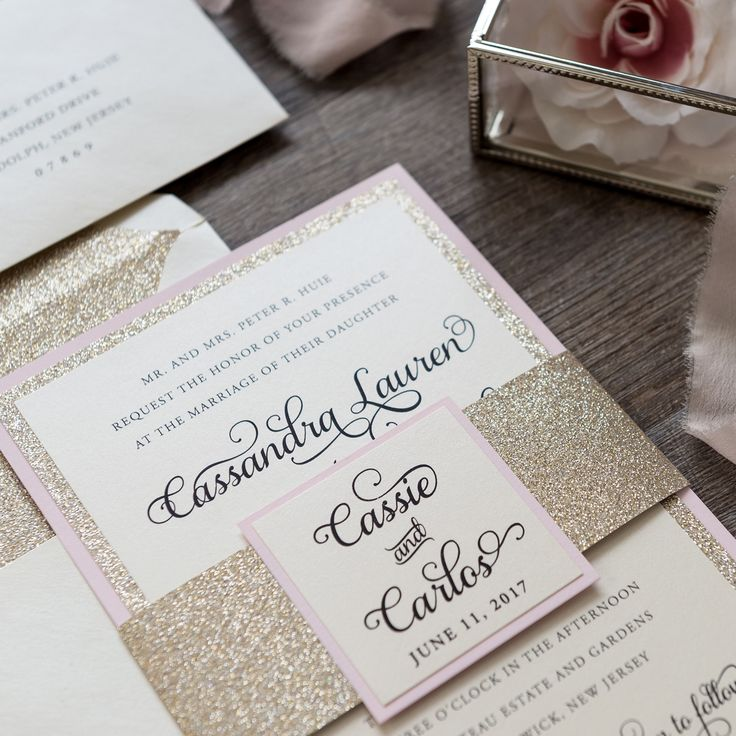 types of printing for wedding invitations%0A Cassie Wedding Invitation