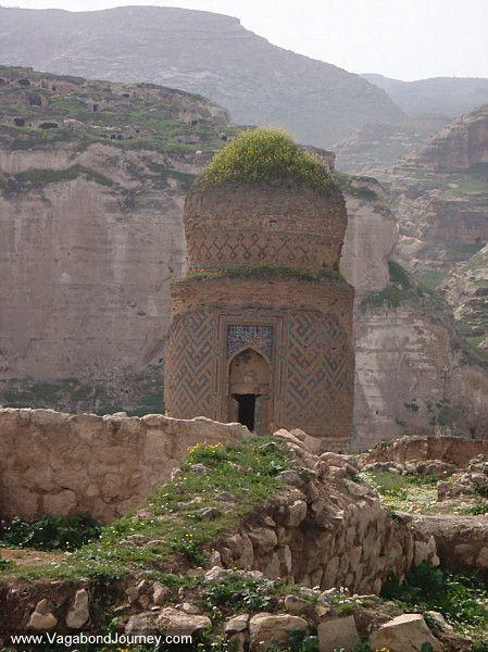 Old Muslim tomb outside of Hasankeyf, Turkey