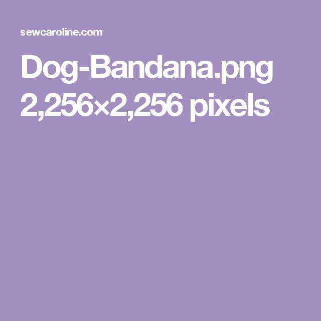 Dog-Bandana.png 2,256×2,256 pixels
