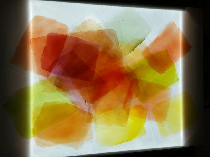 V1-V4 139 Particular Mixed media on canvas #art #installation #lightsbox 2015