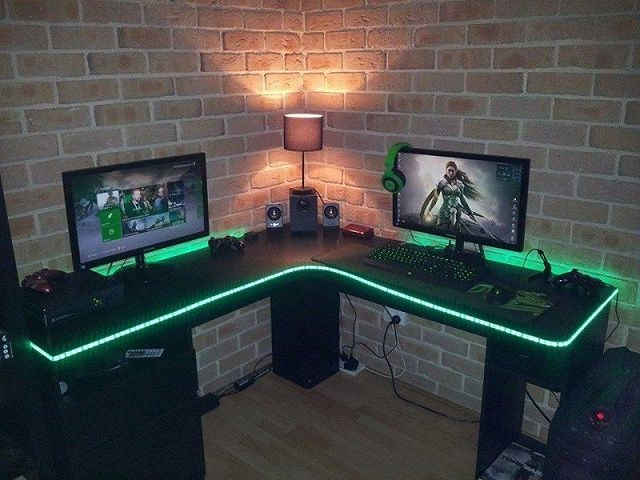 Computer Gaming Room Lights