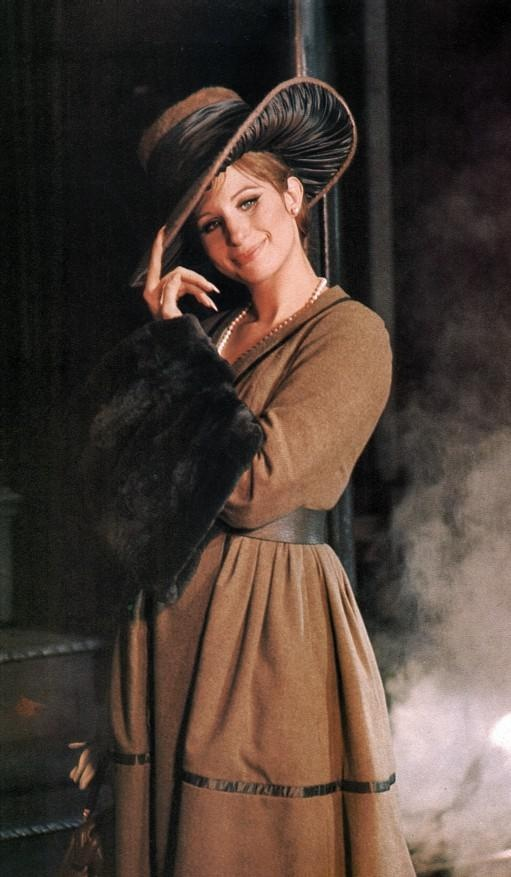 Irene Sharaff's period costume for Barbra Streisand in 'Funny Girl' (1968).