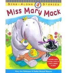 Miss Mary Mack: A Hand-Clapping Rhyme, by Mary Ann Hoberman.  Miss Mary Mack, Mack, Mack All dressed in black.