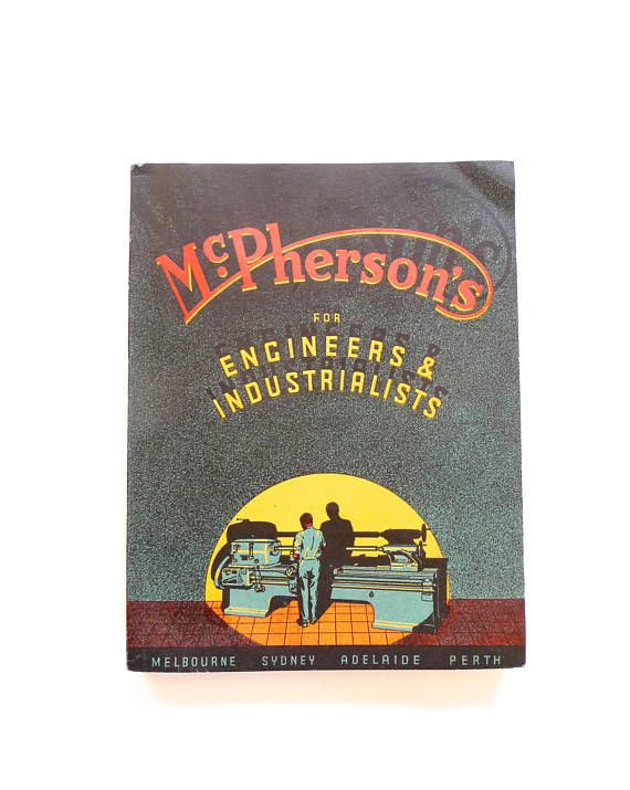 McPherson's for Engineers and Industrialists Catalogue