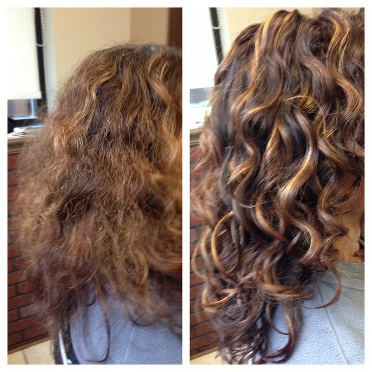 Look What A Difference A Dry Curl Cut And Hydration Can