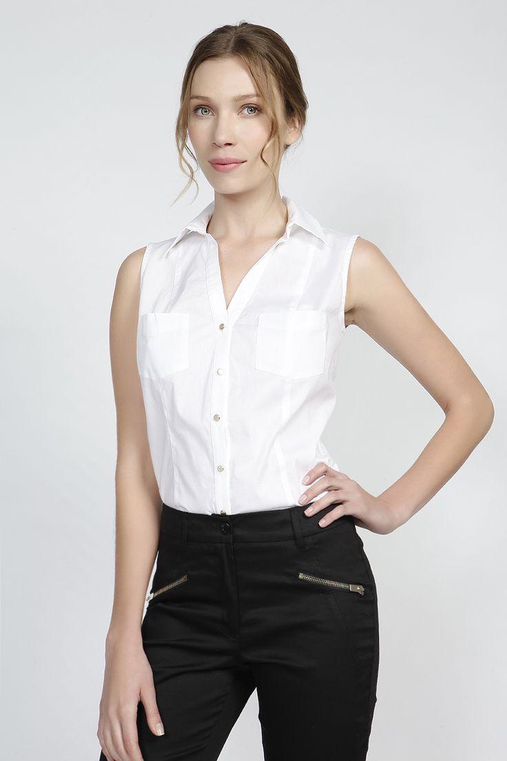 Αμάνικο πουκάμισο