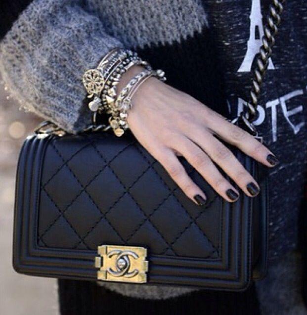 chanel boy purse bags such pinterest. Black Bedroom Furniture Sets. Home Design Ideas