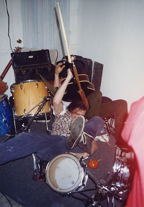 Neutral Milk Hotel's 1997 gig at an Athens Halloween party
