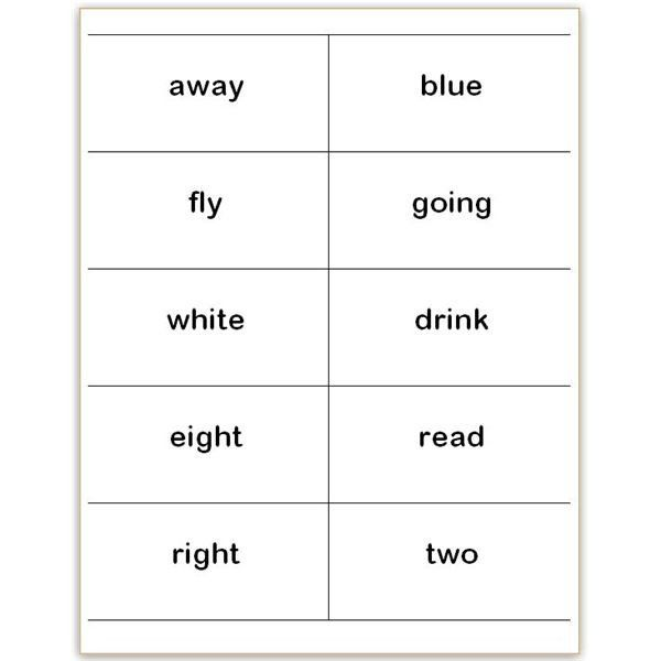 Word Flash Card Template Where To Find And How To Make Printable Dolch Sight Word Printable Flash Cards Flash Card Template Word Wall Cards