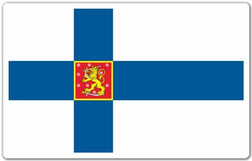 Pegatinas: Bandera de Finlandia #bandera #pegatina #TeleAdhesivo