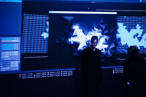 COLOR WARRIORS : INTERACTIVE + VIDEO MAPPING INSTALLATION BY WILLPOWER STUDIOS / WILLIAM ISMAEL : PROCESS