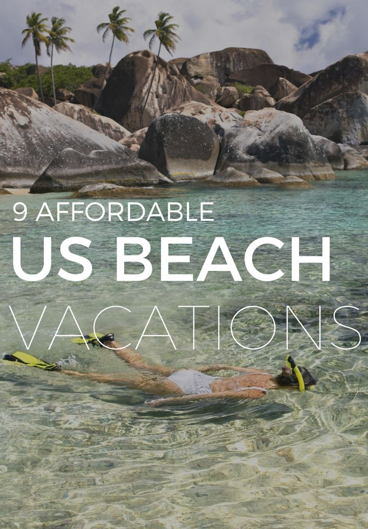 Budget-friendly beach destinations across the states