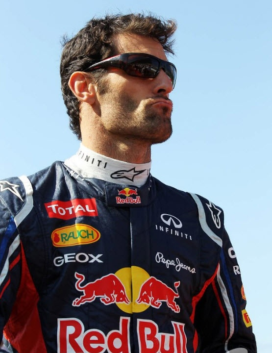 Mark Webber's Prada Sport Sunnies, Japan 2012