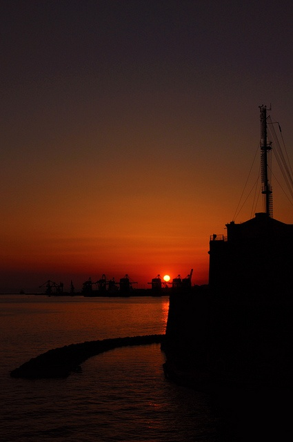 Just Sunset,Taranto, Italy