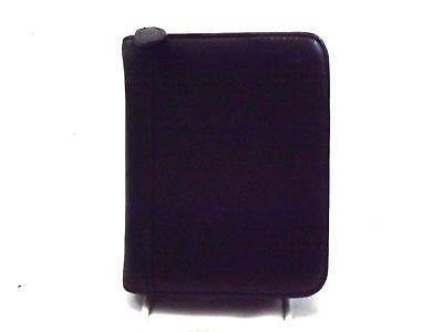 Wilsons Leather Vintage PDA CASE Palm Pilot Holder Black Leather Zip Around
