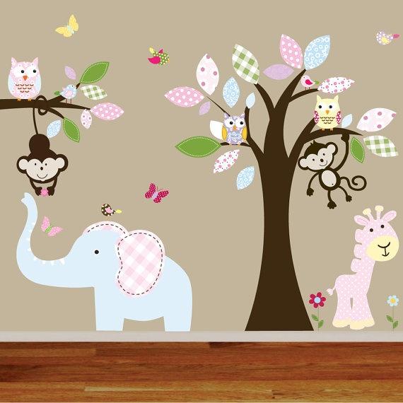 Best Kids Murels Images On Pinterest - Nursery wall decals gender neutral