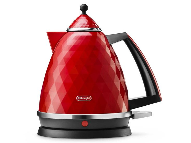 BLACK FRIDAY DEAL - De'Longhi Brilliante 1.7L Jug Kettle - Red