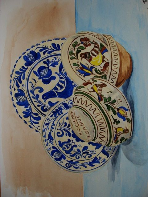 Traditionele keramiek uit Roemenië :: CAREEL art & green