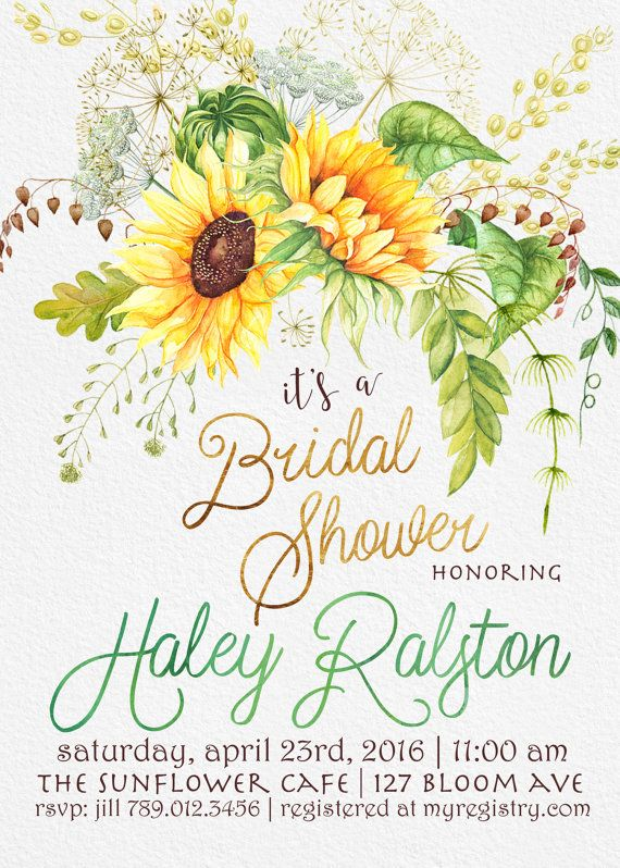 Bridal Shower Invitations London Ontario