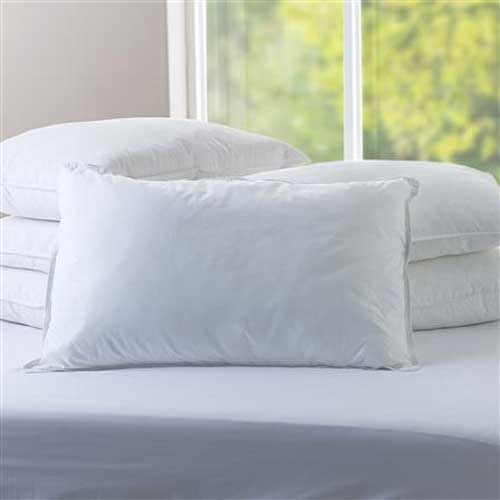 "<p>Euroquilt Siberian Goose Down Pillows are generously filled with sumptuous pure white down for added comfort and posture control.</p> <p>Excellent value of money with our price promise guarantee.</p> <p>Click here <a href=""/goose-down-pillows.html"">Euroquilt Goose Down Pillows</a> to view other sizes.</p> <p>Click here <a href=""/siberian-goose-down..."