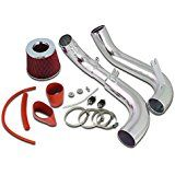 Deals week For 2006-2011 Honda Civic DX LX EX 1.8L L4 Cold Air Intake Red Filter sale