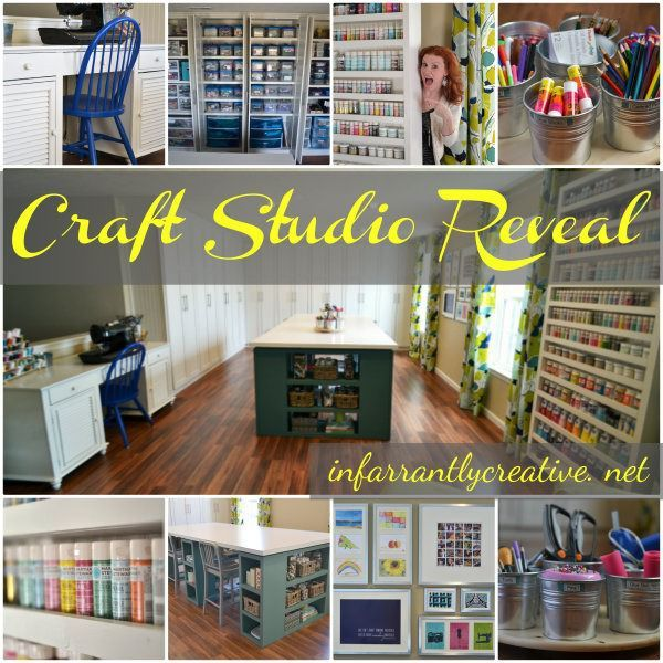 902 best images about Crafts room ideas furniture on Pinterest