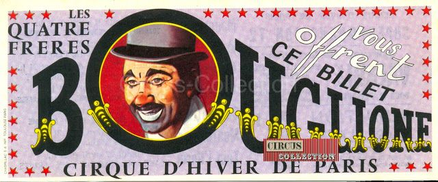 Circus collection: Cirque Bouglione 1972