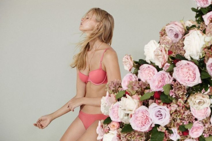 Marloes Horst for Stella McCartney's Lingerie A/W '13