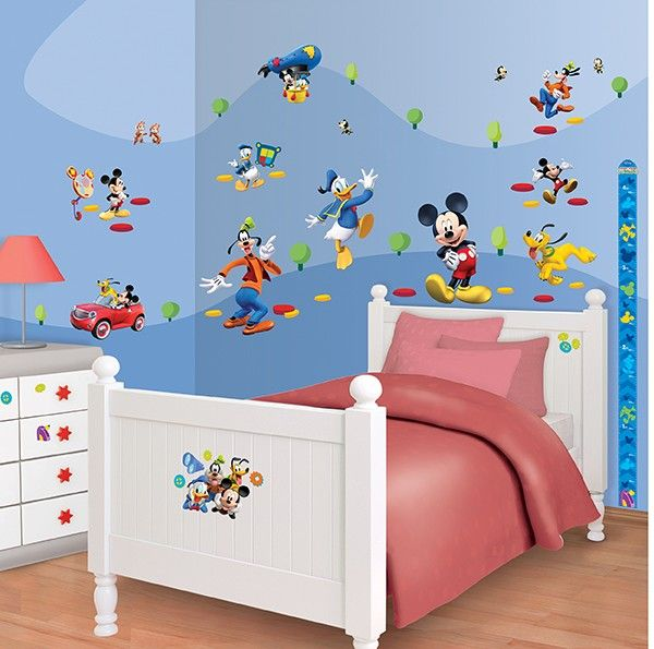 Disney mickey mouse stickers - Mickey mouse clubhouse bedroom decor ...