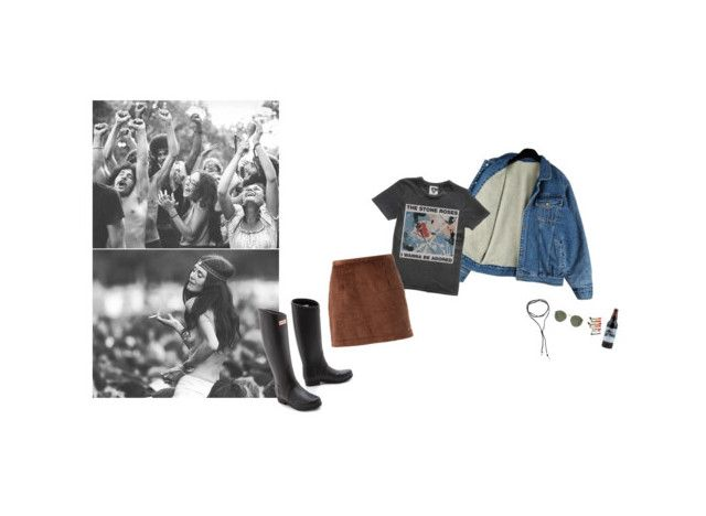 From Woodstock to Glastonbury by thepassingsideshow on Polyvore featuring Opening Ceremony, Hunter, BlackMoon, Ray-Ban, simple, festival, Bohemian, rockerchic and aesthetic