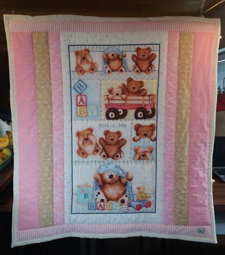 Holčičí miminkovská deka 🙂