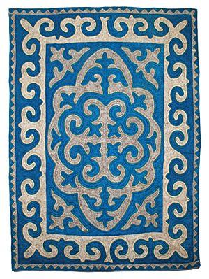 Felt - unique shyrdak felt rugs - Rugs http://www.feltrugs.co.uk/