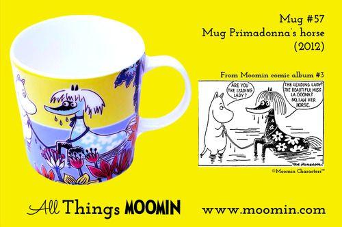Moomin.com - Moomin mug Primadonna's horse / Primadonnas hest / summermug / sømmer 2013
