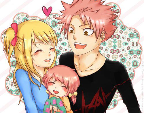 ... natsu and lucy s kid more lucy family fairy tail gang lucy s kid anime