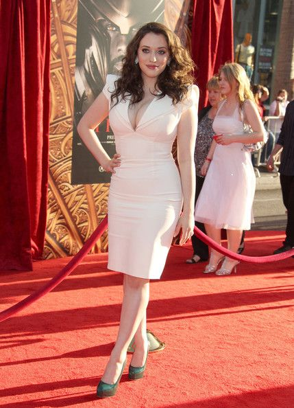 "Kat Dennings Photos - Celebrities attend the ""Thor"" Los Angeles premiere at the El Capitan Theatre in Hollywood. - ""Thor"" Los Angeles Premiere - Arrivals"