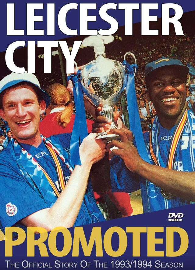 Promoted 20 years ago when Steve Walsh scored twice in the play off final against derby county at Wembley http://visionsport.co.uk/m/leicester/lc94e-dvd.html