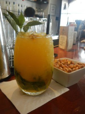 Passion fruit Pisco drink at the Pisco Museum in Cusco, Peru. #Peru #travel #beverages #drinks #cusco  www.lifecultured.com