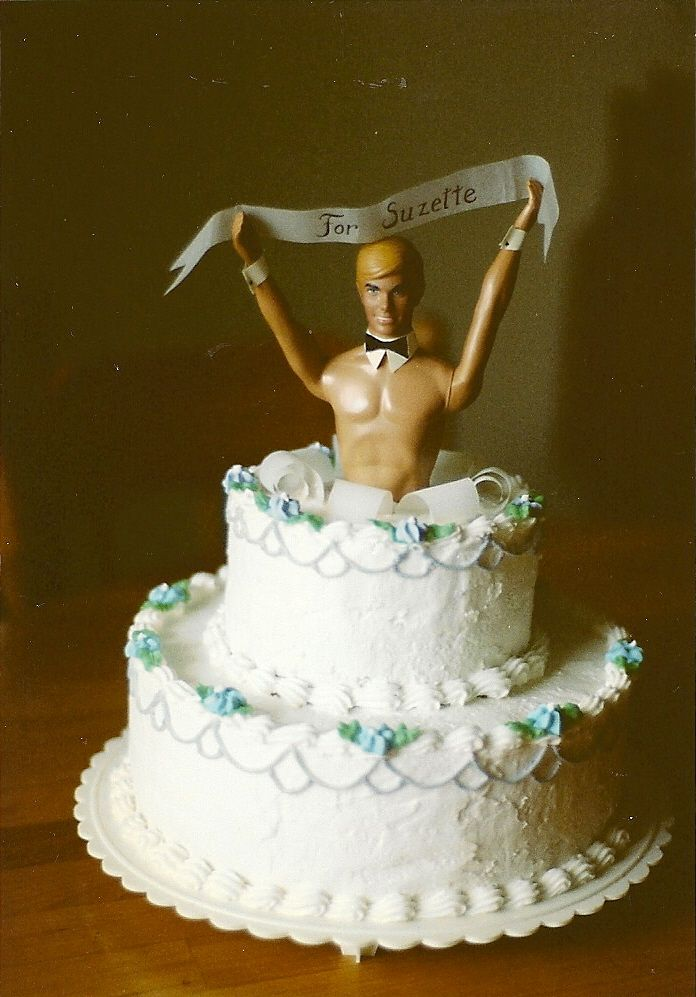 Chippendale Bridal Shower Cake -   Top Tier Wedding Cakes - southern Oregon