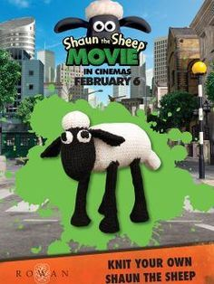 Shaun the Sheep free knitting pattern and more lamb and sheep knitting patterns