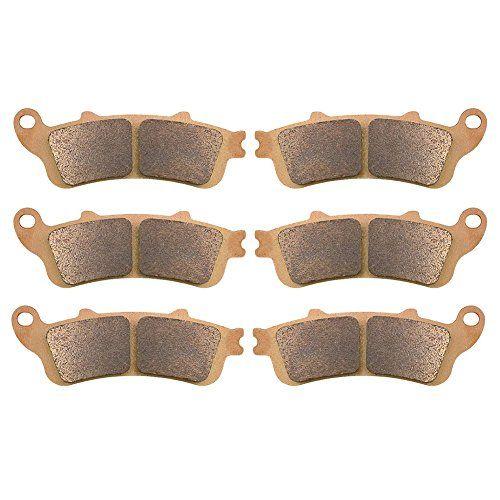 2001-2013 All Models AHL Sintered Front /& Rear Brake Pads Set for Honda GL1800 Goldwing