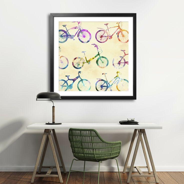 KOLOROWERY  MIXGALLERY transport,bicycle,vintage,wallart,canvas,canvas print,home decor, wall,framed prints,framed canvas,artwork,art